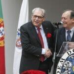 Rodrigo Sousa e Castro auf der Gedenkveranstaltung des Ärzteordens für die Nelkenrevolution in Portugal