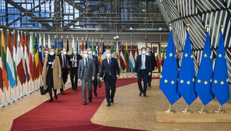 Heiko Maas auf dem Außenministertreffen der EU am 25. Januar 2020 in Brüssel