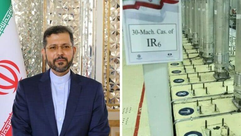 Der Sprecher des iranischen Außenministeriums Saeed Khatibzadeh