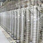 Urananreicherungszentrifugen in der iranischen Atomanlage Natanz