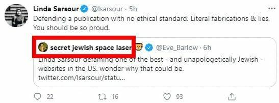 """Die US-Aktivistin Linda Sarsour und die Wahnidee vom """"jüdischen Weltraumlaser"""""""