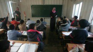 Vom Palästinenserhilfswerk UNRWA betriebene Schule im Gazastreifen