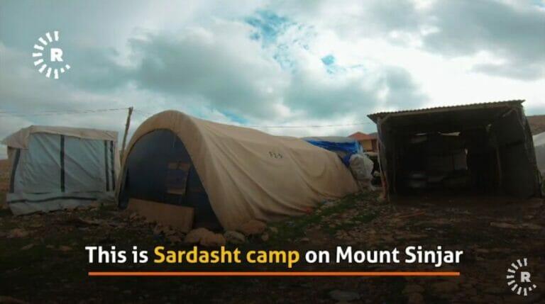 Das Flüchtlingslager Sardasht für jesidische Binnenvertriebene im Nordirak