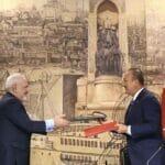Im Juni 2020 war Irans Außenminiter Zarif schon einmal auf Staatsbesuch in der Türkei