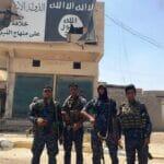 Die pro-iranischer Volksmobilisierungseinheiten spielten, wie hier in Fallujah, eine große Rolle bei der Befreiung des Irak vom Islamischen Staat. (© imago images/UPI Photo)