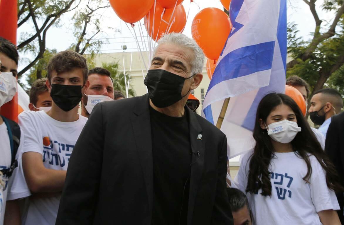 Kommt nach der vierten Parlamentswahl in Israel jetzt die Stunde von Jair Lapid? (© imago images/Xinhua)