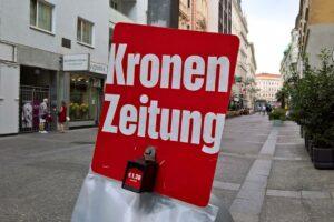 Der Außenpolitikchef der Kronen Zeitung zeigt sich in gewohnter Form. (© imago images/Manfred Segerer)