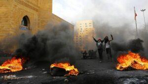Im Libanon sind die Proteste wiederaufgeflammt