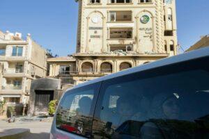 """Der ehemalige Sitz der Muslimbrüder in Kairo. Heute befindet sich die Führung der Organisation in Europa. (© <a href=""""http://www.imago-images.de"""">imago images</a>/Xinhua)"""