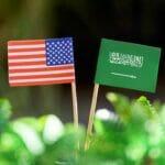 Um das saudisch-amerikanische Verhältnis war es schon einmal besser bestellt. (© imago images/Future Image)