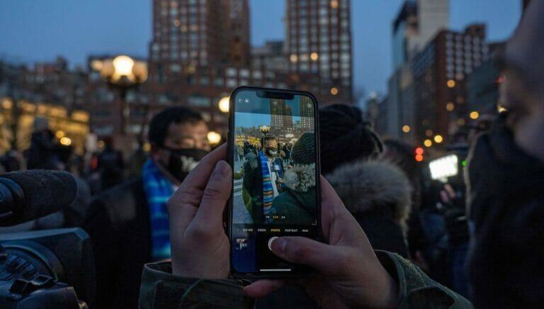 Der New Yorker Bürgermeisterkandidat Andrew Yang