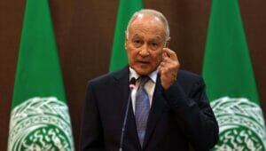 Generalsekretär der Arabischen Liga, Ahmed Aboul Gheit, verurteilt tschechischen Schritt in Jerusalem