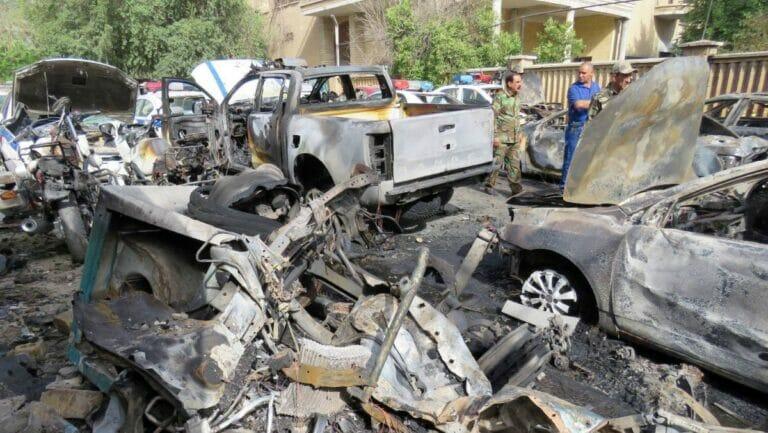 Selbstmordanaschlag in Bagdad