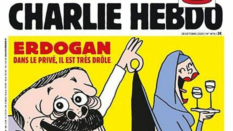 Erdogan-Karikatur der französischen Satirezeitschrift Charlie Hebdo