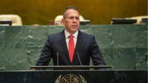 Israels UNO-Botschafter Gilad Erdan