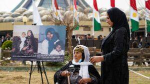 Gedenkfeier am Jahrestag des Giftgasangriffs auf Halabja