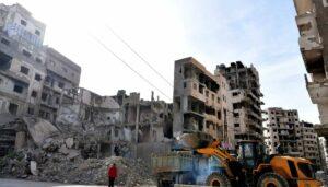 Die Stadt Homs nach 10 Jahren Krieg in Syrien