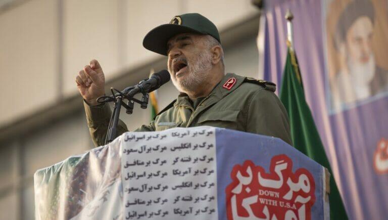 Kommandeur der iranischen Revolutionsgarden Hossein Salami