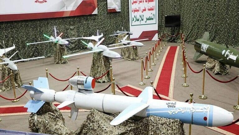 Raketen und Drohnen der Houthis