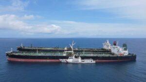 Die beiden von Indonesien beschlagnahmten iranischen Öltanker