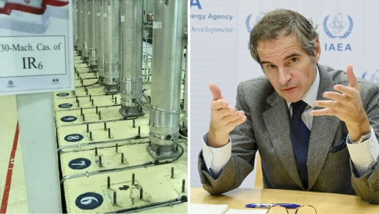 Uranzentrifugen im Iran, IAEO-Chef Rafael Grossi