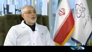 Der Leiter der Atomenergiebehörde des Iran Ali-Akbar Salehi im Interview