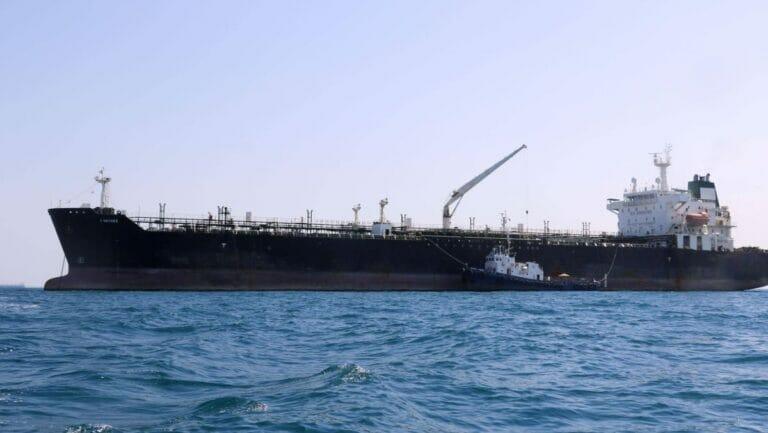 Öltanker vor der iranischen Küste