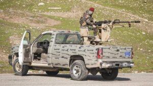 Auch kurdische Peshmerga-einheiten waren an der irakischen Militäroperation beteiligt