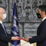 Botschafter Mohamed Al Khaja überreicht Präsident Reuven Rivlin sein Beglaubigungsschreiben