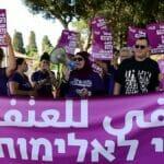 Arabische Israelis demonstrieren gegen Gewalt und organisierte Kriminalität in ihren Gemeinden