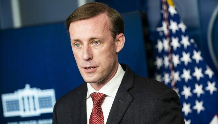 Der Nationale Sicherheitsberater der USA Jake Sullivan