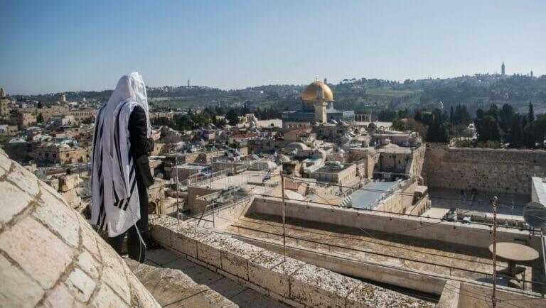 Der Tempelberg in Jerusalem