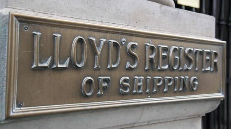 Lloyd's Register of Shipping in London