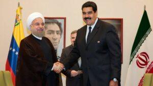 Hassan Rohani mit dem venezolanischen Präsidenten Nicolás Maduro