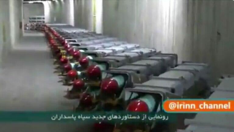 """Fenrsehbilder der unterirdischen iranischen """"Raketenstadt"""""""