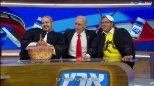 Israelische Fernsehparodie über Netanjahus Wahlkampfbündnisse