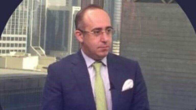 Der prominente palästinensische Geschäftsmann Ghanem Nuseibeh