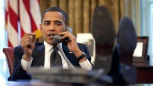US-Präsident Barack Obama telefoniert mit Israels Premierminister Benjamin Netanjahu