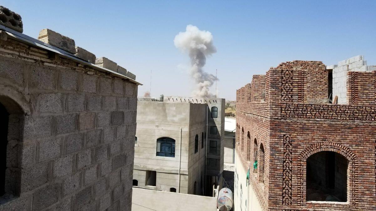 Saudischer Luftangriff auf Houthi-Einrichtungen im Jemen