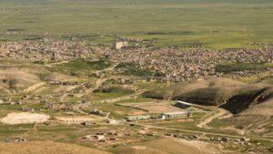 Shingal-Stadt im gleichnamigen irakischen Bezirk