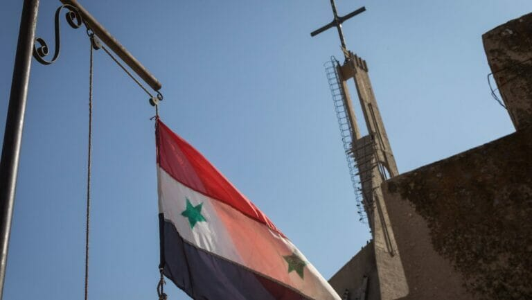 Die Zahl der Christen in Syrien ist während des Krieges um zwei Drittel zurückgegangen