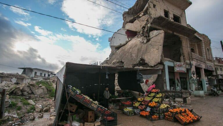 Dieser Tage jährt sich der Kriegsbeginn in Syrien zum zehnten Mal