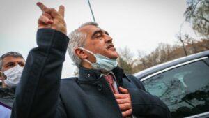 Vor seiner Verhaftung nahm Gergerlioglu an einer Feier zum kurdischen Neujahr in Ankara teil