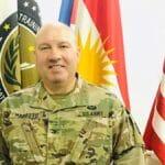 Der Sprecher der US-geführten Koalition im Irak, Oberst Wayne Marotto