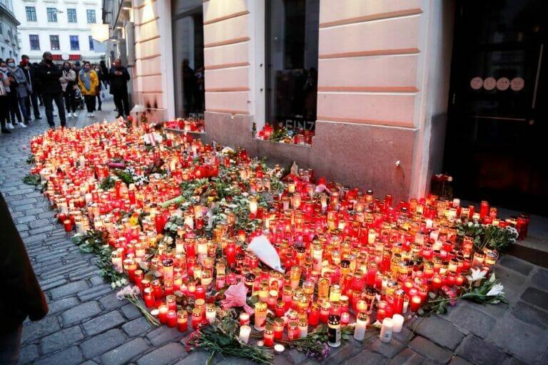 Einer der Schauplätze des Anschlags in Wien am 2. November 2020. Bei den Nachforschungen danach erweckten Datingseiten für Islamisten das Interesse der Ermittler. (© imago images/Viennareport)