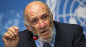 """Einer der Unterzeichner der """"Jerusalemer Erklärung zum Antisemitismus"""": Richard Falk. (© Iran Review/<span class=""""cc-license-identifier""""><a href=""""https://creativecommons.org/licenses/by/4.0/deed.en"""">CC BY 4.0</a>)</span>"""