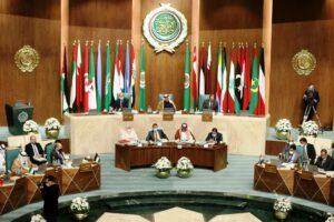 Treffen der Arabischen Liga in Kairo am 3. März 2021. (© imago images/Xinhua)