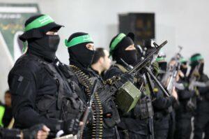 Die in Gaza regierende Hamas will nicht einmal den Anschein erwecken, eine Koexistenz mit Israel zu befürworten. (© imago images/ZUMA Wire)