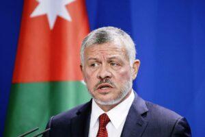 König Abdullah II. von Jordanien. (© imago images/Reiner Zensen)