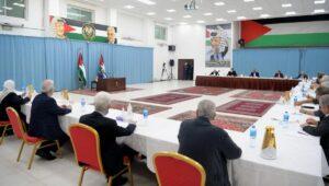 Sitzung des Zentralkomitees von Abbas' Fatah-Fraktion